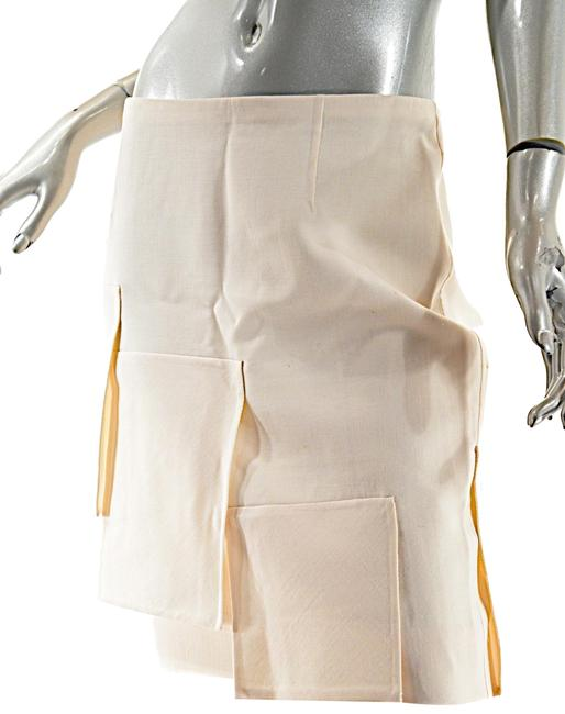 Preload https://img-static.tradesy.com/item/23591255/valentino-off-white-vintage-ivory-fleeced-wool-twill-with-flaps-knee-length-skirt-size-8-m-29-30-0-1-650-650.jpg