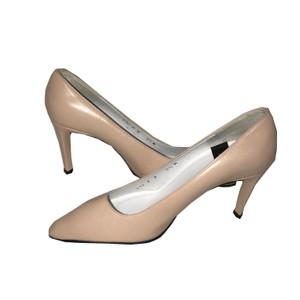 Charles Jourdan Vintage Peach Pumps