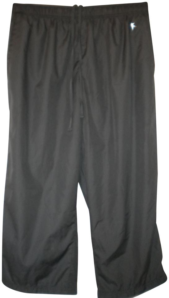 f50fa3fb6e32c7 Danskin Now Sweatpants Lined In Mesh Drawstring Inside Elastic Waist Capri/Cropped  Pants Dark Gray ...