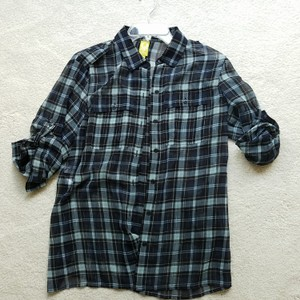 QMack Button Down Shirt Blue