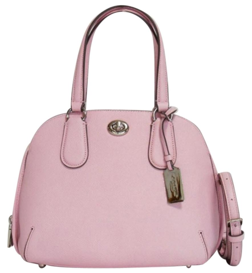 39622c78264b Coach Mini Sierra Sierra Crossbody Satchel in pink Image 0 ...