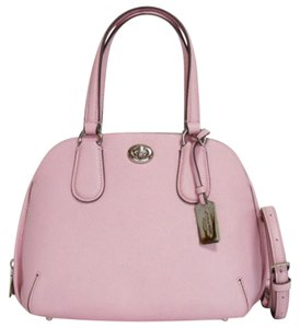Coach Mini Sierra Sierra Crossbody Satchel in pink