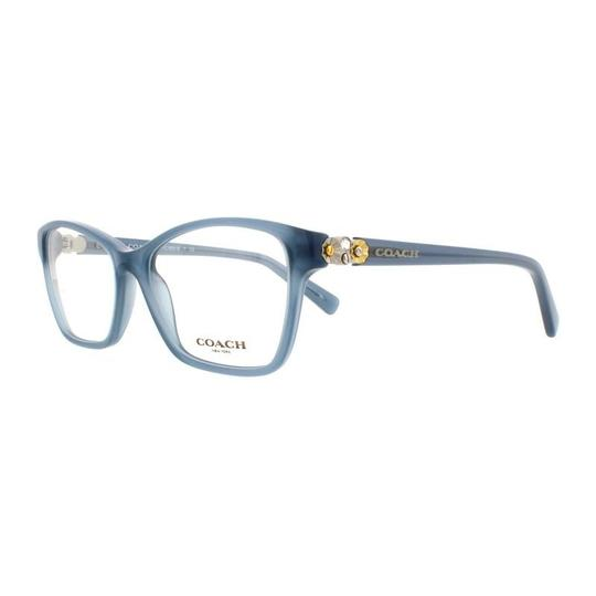 Coach Hc6091b-5399 Butterfly Women\'s Blue Frame Genuine Eyeglasses ...