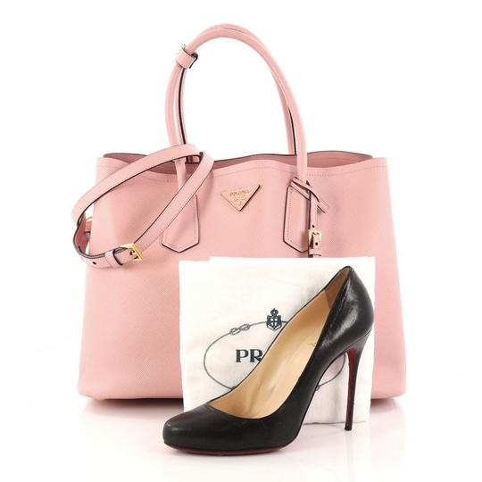 Prada Leather Tote in pink Image 1