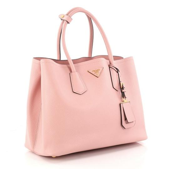 Prada Leather Tote in pink Image 2