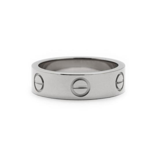 Preload https://img-static.tradesy.com/item/23592096/cartier-white-gold-love-from-love-collection-eu-52-20414-ring-0-0-540-540.jpg