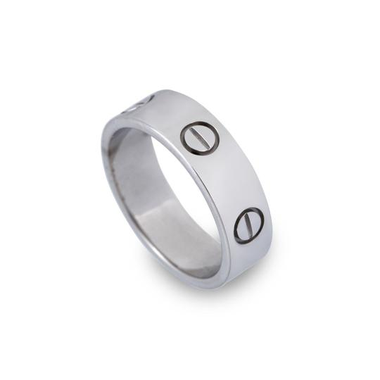 Cartier White Gold Love Ring From Love Collection EU 52 (20414) Image 3