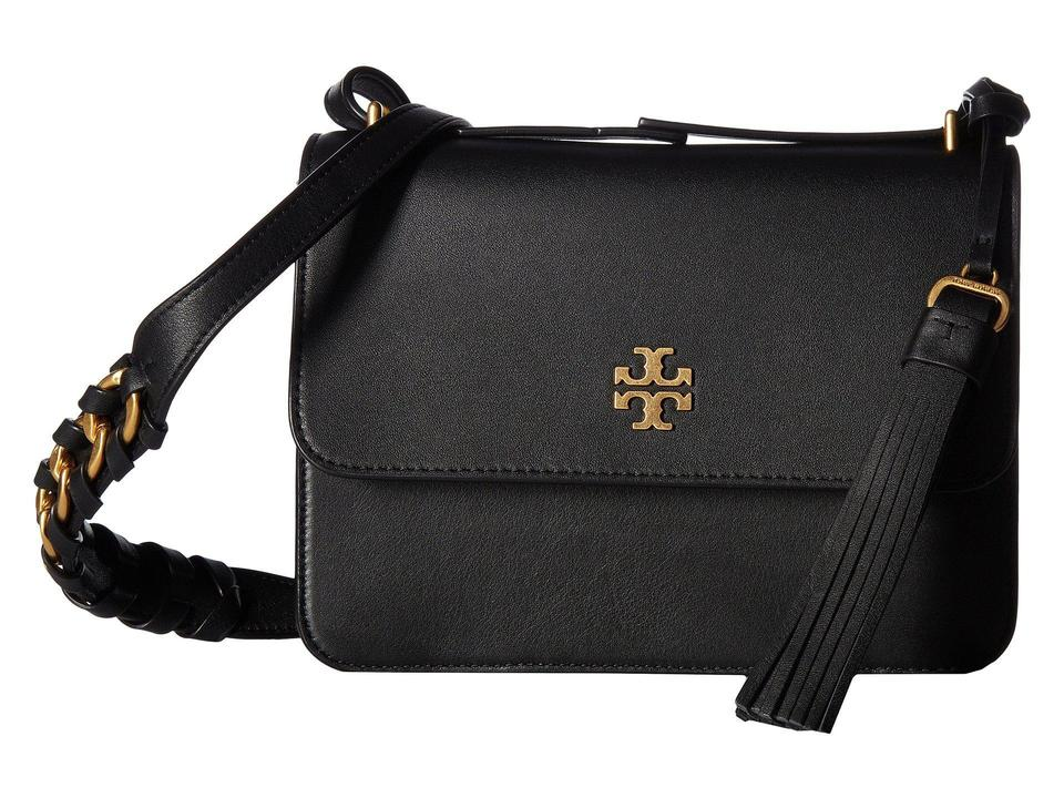 d34519adad47 Tory Burch Leather Gold Hardware Crossbody Shoulder Bag Image 0 ...