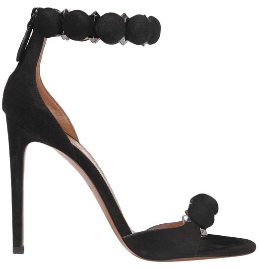Preload https://img-static.tradesy.com/item/23592125/alaia-black-new-studded-suede-45-inches110mm-sandals-size-eu-37-approx-us-7-regular-m-b-0-1-540-540.jpg