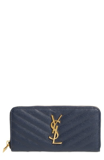 Preload https://img-static.tradesy.com/item/23592164/saint-laurent-navy-new-monogram-quilted-leather-grained-wallet-0-0-540-540.jpg
