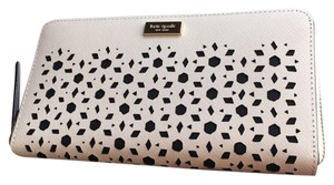 Kate Spade NEW KATE SPADE YORK SUMMER PERFORATED CONTINENTAL WALLET BAG CLUTCH!