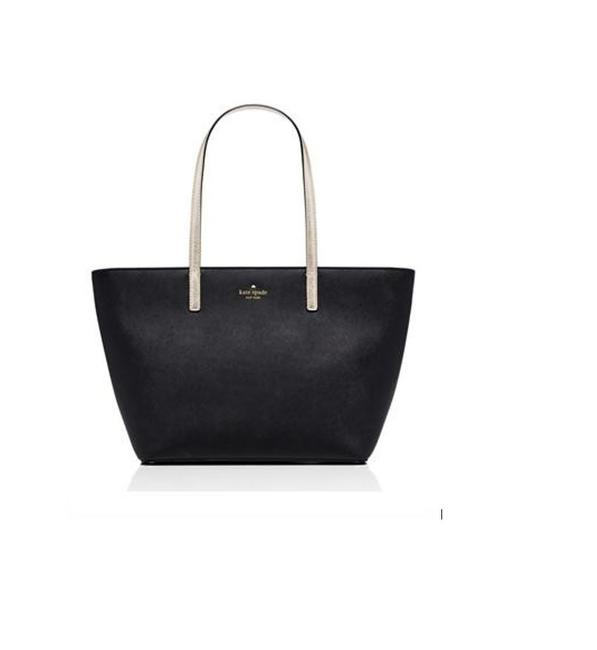 Item - New York Gallery Drive Small Harmony Black Leather Tote