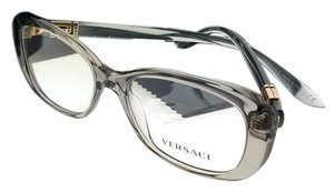 a2a3594ddb30 Versace VE3234B-593-51 Women s Grey Frame Clear Lens Genuine Eyeglasses