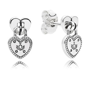 PANDORA Love Locks Stud Earrings