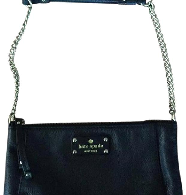 Kate Spade Clutch Clutch/Shoulder Black Shoulder Bag Kate Spade Clutch Clutch/Shoulder Black Shoulder Bag Image 1