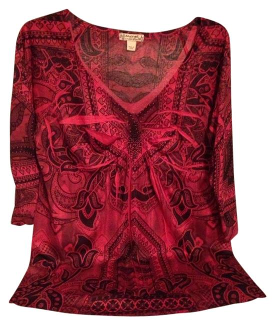 Item - Burgundy Red-size Large Retail Blouse Size 14 (L)