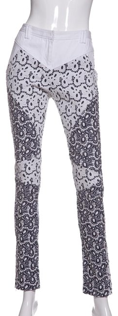 Preload https://img-static.tradesy.com/item/23593872/rebecca-minkoff-white-and-black-lace-cadillac-pant-straight-leg-jeans-size-27-4-s-0-1-650-650.jpg
