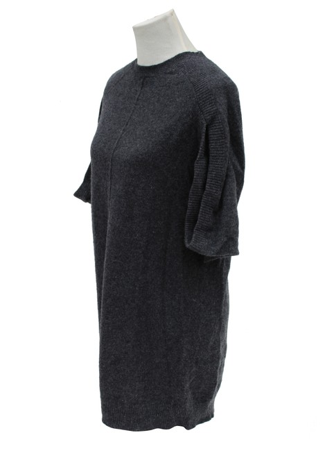 Item - Grey Cashmere Sweater Mid-length Work/Office Dress Size 10 (M)