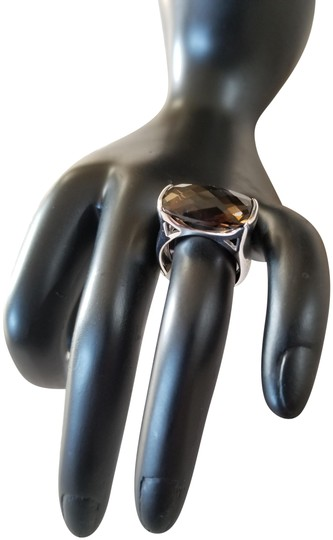 Preload https://img-static.tradesy.com/item/2359423/smokey-quartz-sterling-silver-and-ring-0-4-540-540.jpg