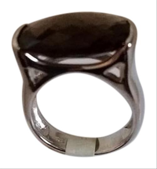 Other Sterling Silver and Smokey Quartz Ring Image 1