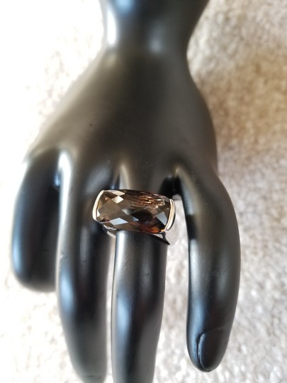 Other Sterling Silver and Smokey Quartz Ring Image 7