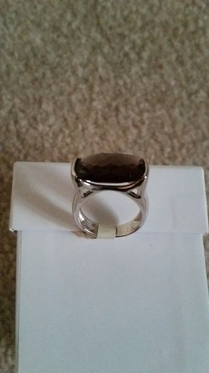 Other Sterling Silver and Smokey Quartz Ring Image 9