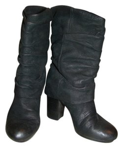 Vince Camuto Slouchy Black Boots