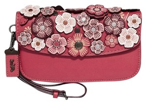 Coach 1941 23536 Tea Rose Tea Rose Sale Sale Red Clutch