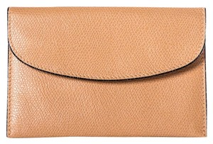 Valextra Valextra Grained Leather Nude Card Case