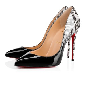 Christian Louboutin Pigalle Stiletto Follies Classic Patent black Pumps