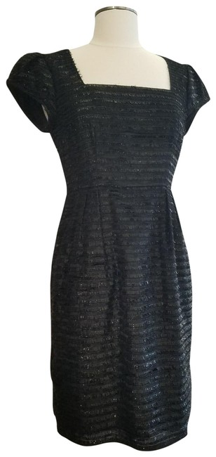 Preload https://img-static.tradesy.com/item/23595287/nanette-lepore-black-easy-to-love-you-metallic-fringe-short-cocktail-dress-size-6-s-0-1-650-650.jpg