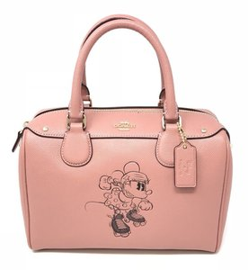 Coach Satchel in Vintage Pink