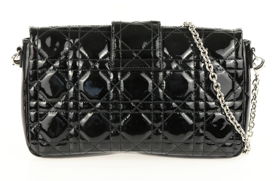 acac8b2c92 Dior Wallet on Chain Miss Promenade Black Patent Leather Cross Body ...