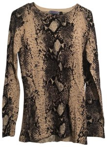 Acrobat x A Pea In The Pod Snakeskin Sweater