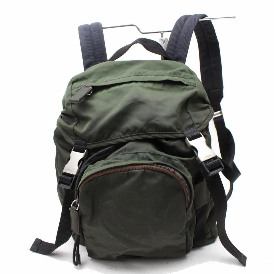 fdeebf98cd78bc Prada Multiple Compartment Excellent Condition Multiple Pockets Backpack  Image 0 ...