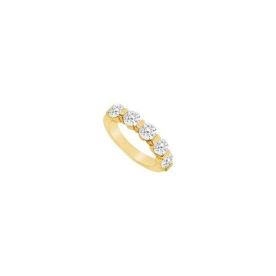 Preload https://img-static.tradesy.com/item/23596132/white-yellow-cubic-zirconia-wedding-band-18k-gold-vermeil-ring-0-0-540-540.jpg