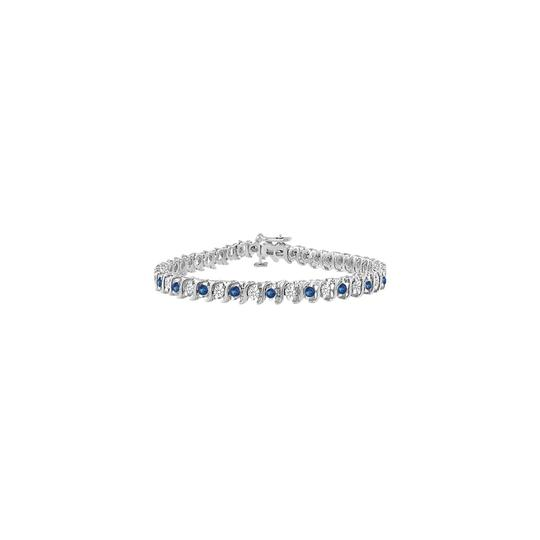 Preload https://img-static.tradesy.com/item/23596678/blue-designer-created-sapphire-cz-tennis-ct-925-sterling-silver-bracelet-0-0-540-540.jpg