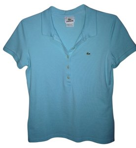 Lacoste Button Down Shirt sky blue/light turquoise
