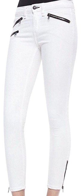 Item - White Cropped Women Skinny Jeans Size 31 (6, M)