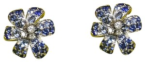 Gucci Gucci Flora Earrings with Sapphires & Diamonds