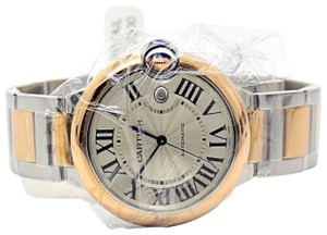 Cartier Cartier Ballon Bleu 42MM Steel and 18K Rose Gold Ref W2BB0004