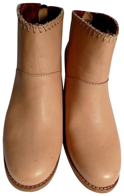 Item - Tan Leila Boots/Booties Size US 6.5 Wide (C, D)