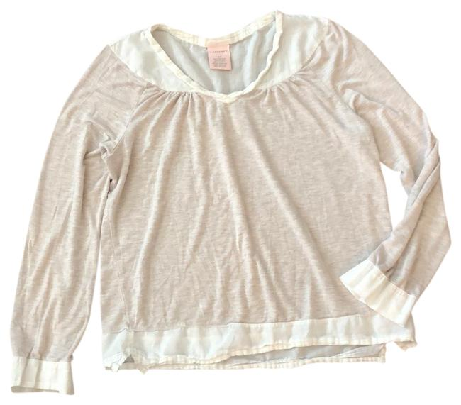 Item - Beige and Ivory Soft Comfortable Tunic Size 0 (XS)