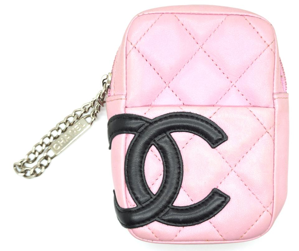 f06fb33eea8ac1 Chanel Cambon CC Lambskin Quilted waist bag pouch bum bag Image 0 ...
