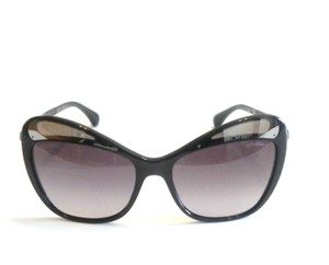 Chanel Chanel Black Mirror Accent Cat Eye Sunglasses In Case 5377 57 MM