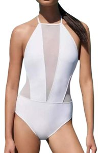 Ted Baker Ted Baker white and sheer one piece swimsuit NEW without tags