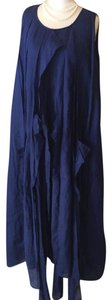 navy blue Maxi Dress by Ivan Grundahl