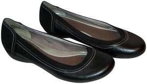 Dockers Leather Comfortable Woman's Black Flats