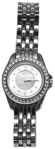 Relic Relic Silver Watch with Rhinestones