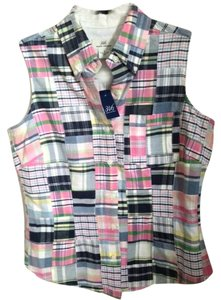 Brooks Brothers Button Down Shirt Madris Plaid